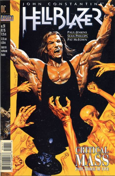 Cover for Hellblazer (DC, 1988 series) #94