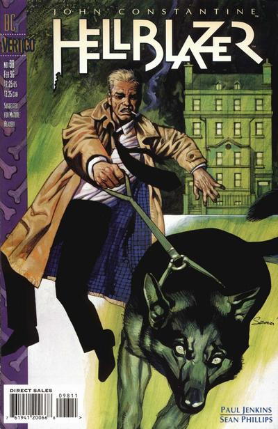 Cover for Hellblazer (DC, 1988 series) #98