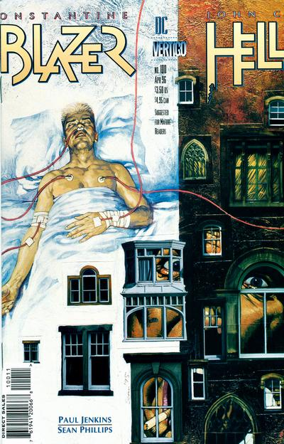 Cover for Hellblazer (DC, 1988 series) #100