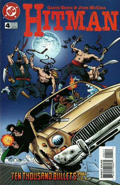 Cover for Hitman (DC, 1996 series) #4