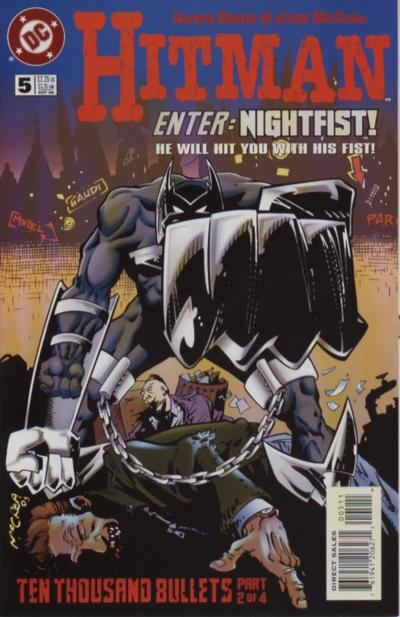 Cover for Hitman (DC, 1996 series) #5