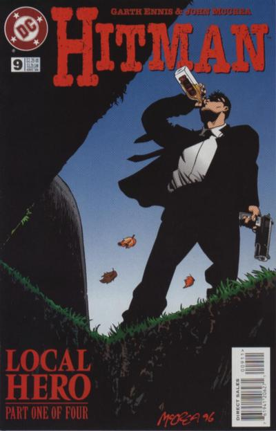 Cover for Hitman (DC, 1996 series) #9