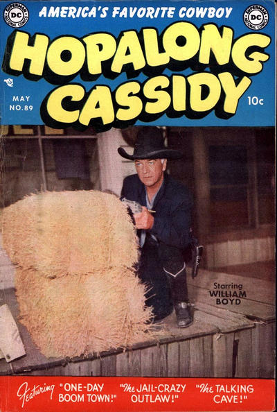 Cover for Hopalong Cassidy (DC, 1954 series) #89