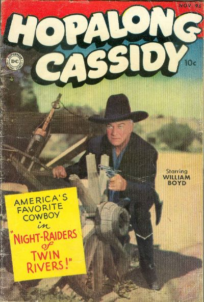 Cover for Hopalong Cassidy (DC, 1954 series) #95