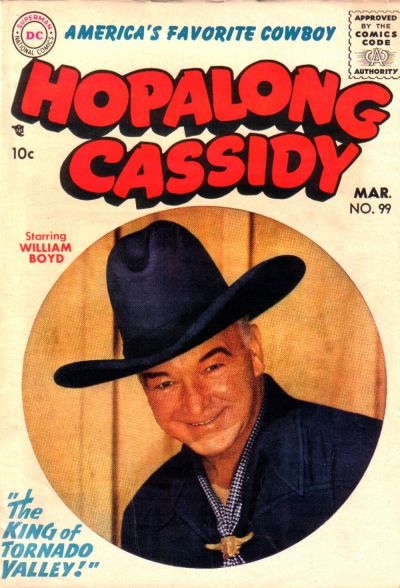 Cover for Hopalong Cassidy (DC, 1954 series) #99