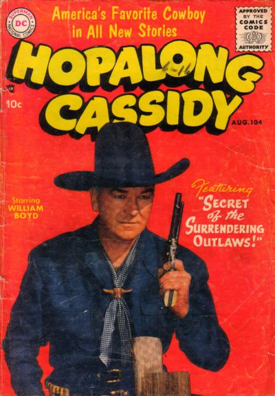Cover for Hopalong Cassidy (DC, 1954 series) #104