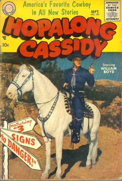 Cover for Hopalong Cassidy (DC, 1954 series) #105