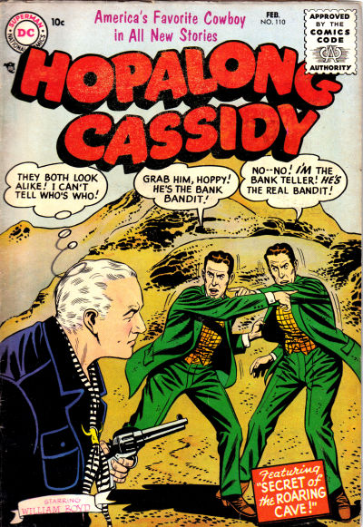 Cover for Hopalong Cassidy (DC, 1954 series) #110