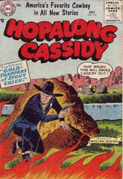 Cover for Hopalong Cassidy (DC, 1954 series) #115