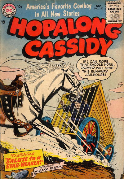 Cover for Hopalong Cassidy (DC, 1954 series) #120