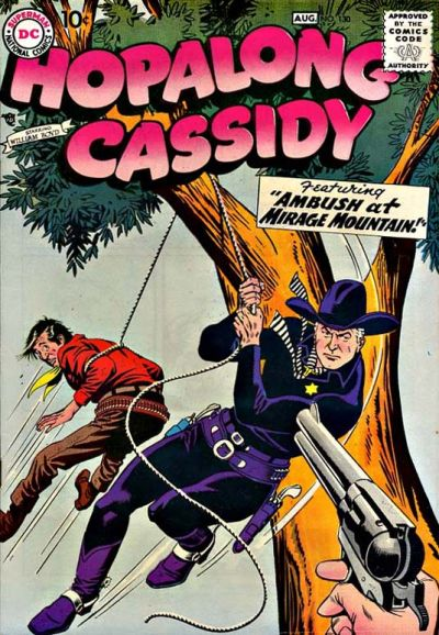 Cover for Hopalong Cassidy (DC, 1954 series) #130