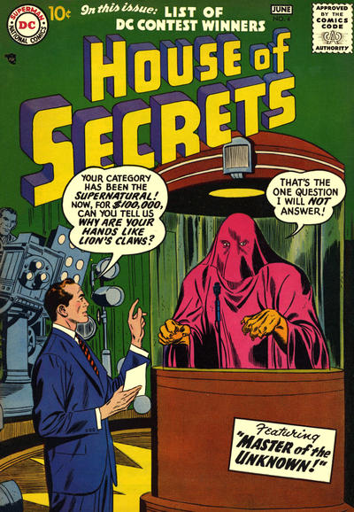 Cover for House of Secrets (DC, 1956 series) #4