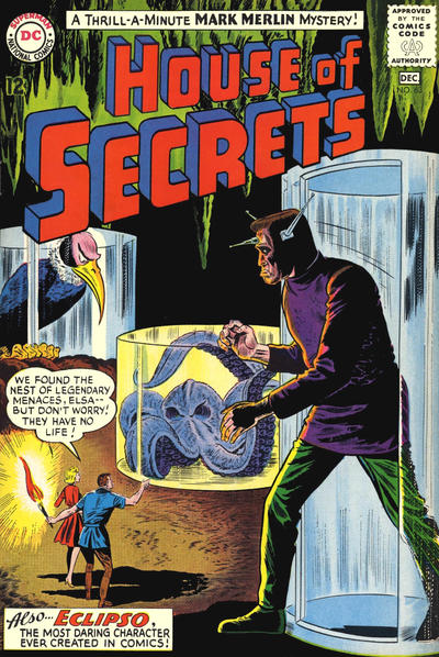 Cover for House of Secrets (DC, 1956 series) #63