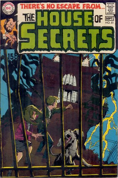 Cover for House of Secrets (DC, 1956 series) #81
