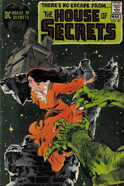 Cover for House of Secrets (DC, 1969 series) #90