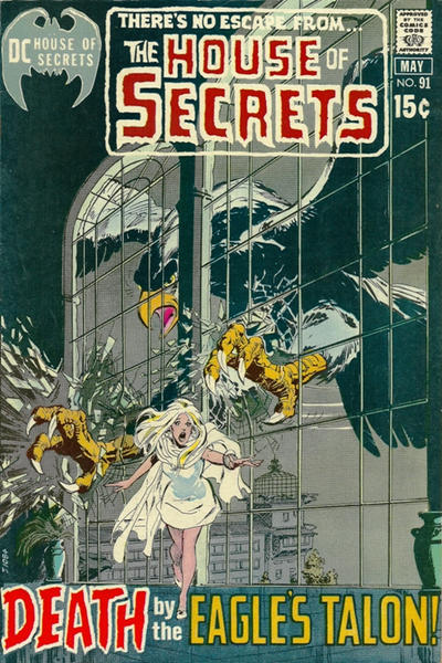 Cover for House of Secrets (DC, 1956 series) #91