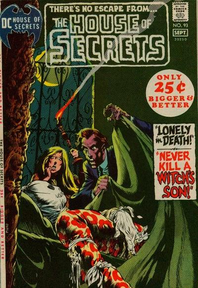 Cover for House of Secrets (DC, 1956 series) #93