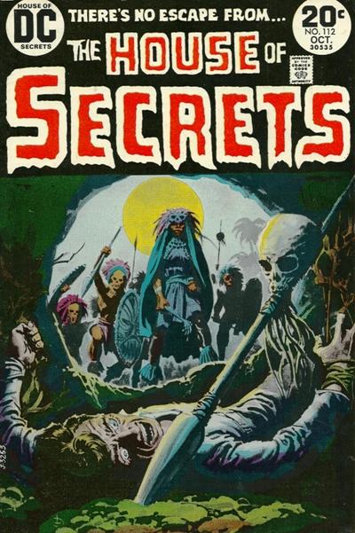 Cover for House of Secrets (DC, 1969 series) #112