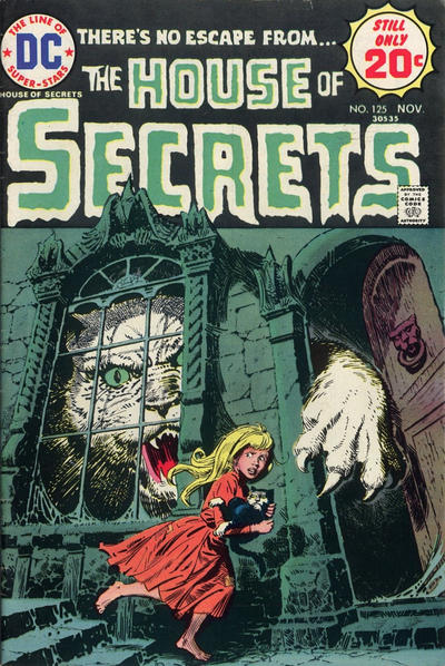 Cover for House of Secrets (DC, 1969 series) #125