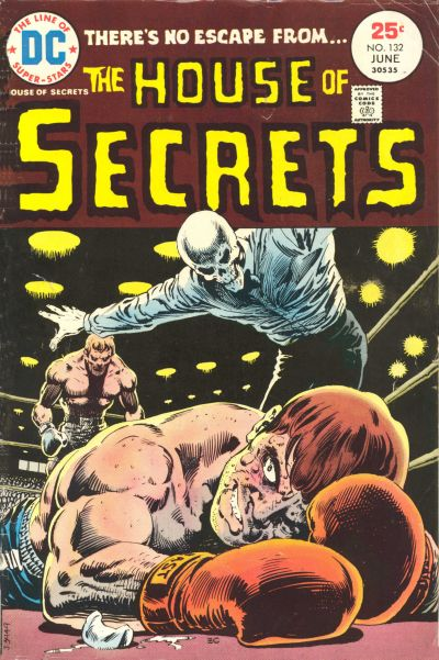 Cover for House of Secrets (DC, 1969 series) #132