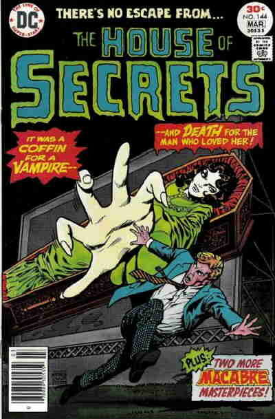 Cover for House of Secrets (DC, 1969 series) #144