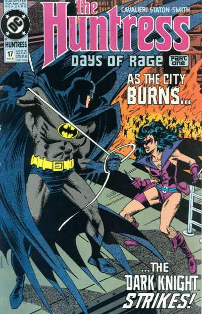 Cover for The Huntress (DC, 1989 series) #17