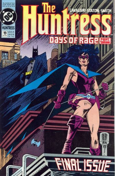Cover for The Huntress (DC, 1989 series) #19