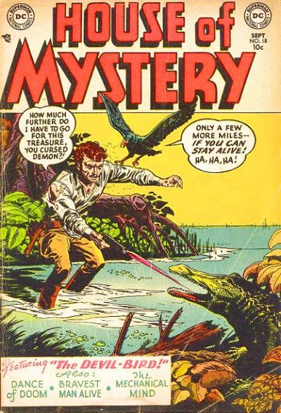 Cover for House of Mystery (DC, 1951 series) #18