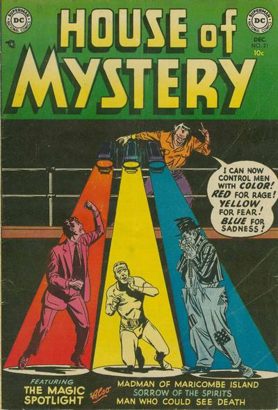 Cover for House of Mystery (DC, 1951 series) #21