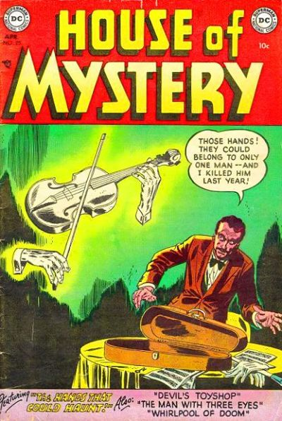 Cover for House of Mystery (DC, 1951 series) #25