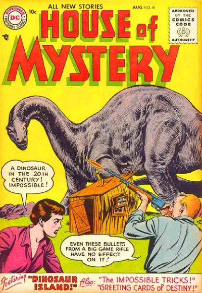 Cover for House of Mystery (DC, 1951 series) #41
