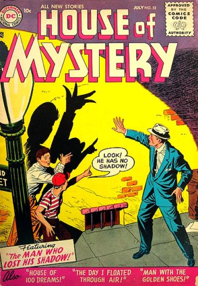Cover for House of Mystery (DC, 1951 series) #52