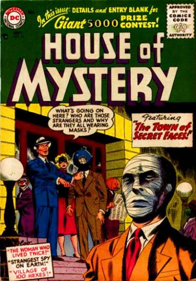Cover for House of Mystery (DC, 1951 series) #54