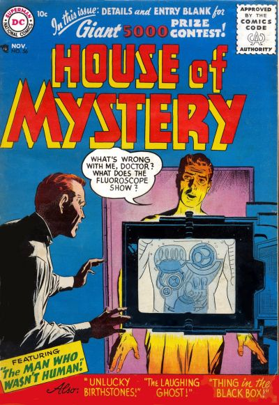 Cover for House of Mystery (DC, 1951 series) #56