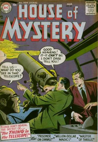 Cover for House of Mystery (DC, 1951 series) #60