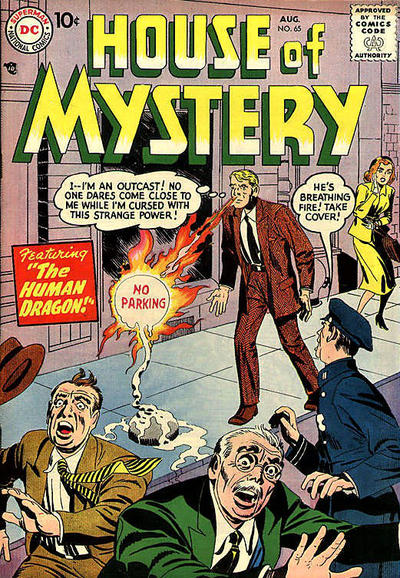 Cover for House of Mystery (DC, 1951 series) #65