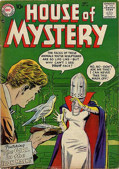 Cover for House of Mystery (DC, 1951 series) #66