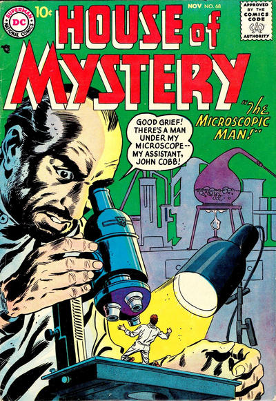 Cover for House of Mystery (DC, 1951 series) #68