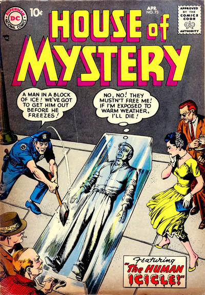 Cover for House of Mystery (DC, 1951 series) #73