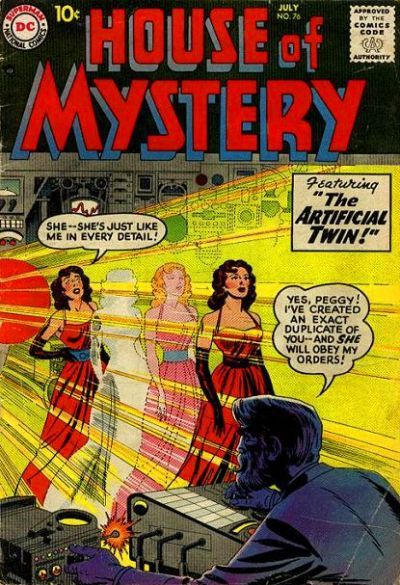 Cover for House of Mystery (DC, 1951 series) #76