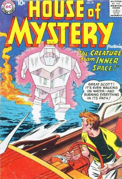 Cover for House of Mystery (DC, 1951 series) #79