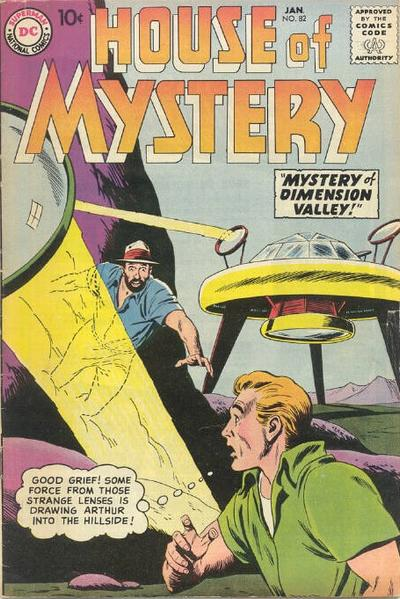 Cover for House of Mystery (DC, 1951 series) #82