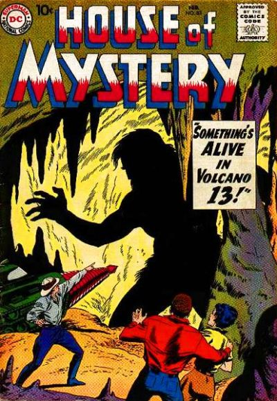 Cover for House of Mystery (DC, 1951 series) #83