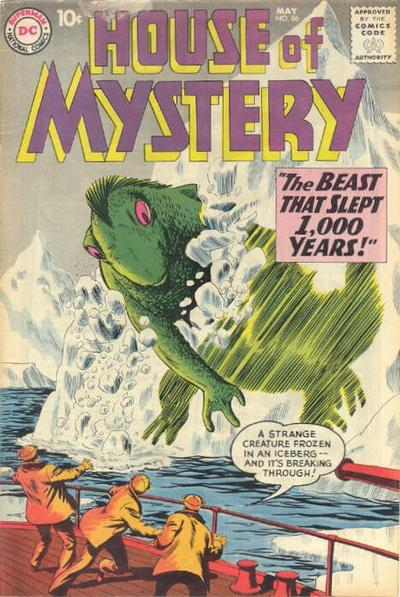 Cover for House of Mystery (DC, 1951 series) #86