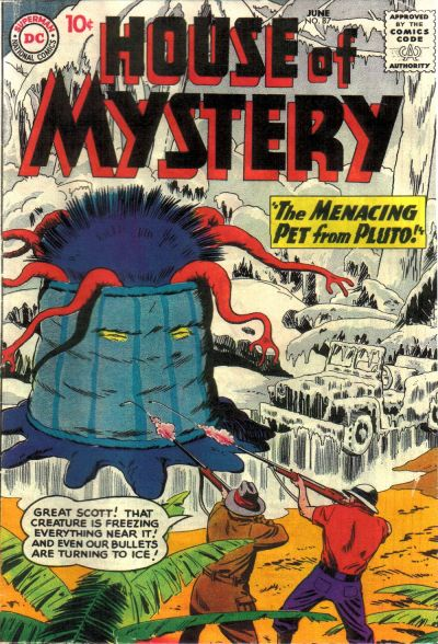 Cover for House of Mystery (DC, 1951 series) #87