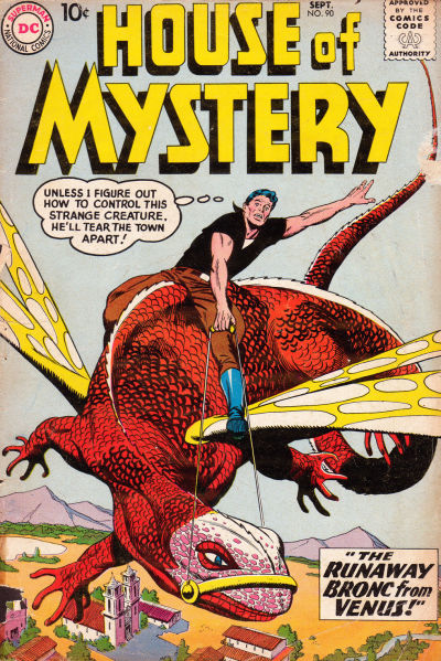 Cover for House of Mystery (DC, 1951 series) #90