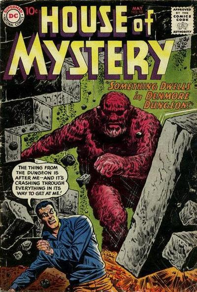 Cover for House of Mystery (DC, 1951 series) #98