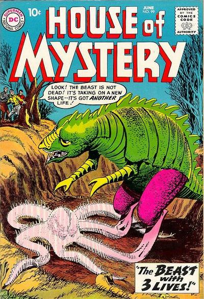 Cover for House of Mystery (DC, 1951 series) #99