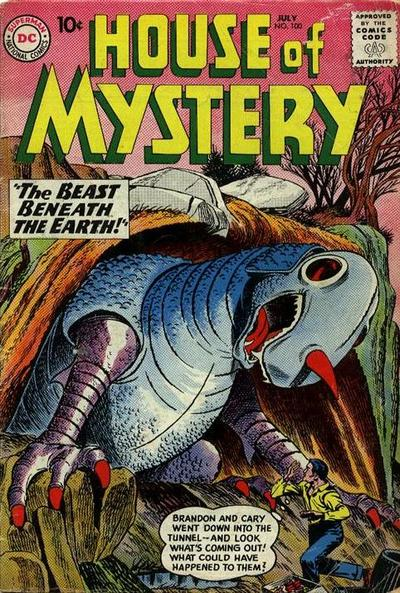 Cover for House of Mystery (DC, 1951 series) #100