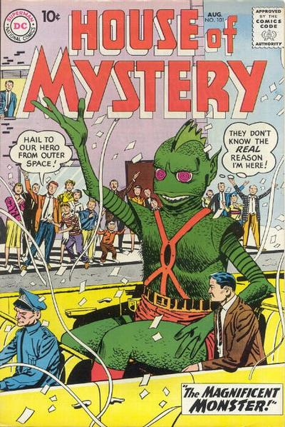 Cover for House of Mystery (DC, 1951 series) #101